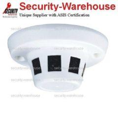 1/3 inches Sony CCD CCTV 3 6-16mm Hidden Security Camera in Fake Smoke Sensor 480 TVL
