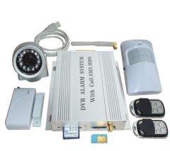 Home Security Wireless SMS GSM DVR IR Camera Alarm SD Card 8 Door
