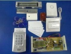 RFID & Password Access Control Full Kit-180Kg EM Lock Wireless Remote Open Door Bell