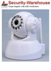 WIRELESS IP CAMERA AUDIO VIDEO WIFI PTZ IR Motion Detction ANDROID IPHONE WHITE