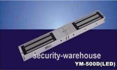 YM-500D LED 500kg Double Door Electromagnetic Lock +Signal Output