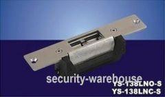 YS-138LNONC U S regulatory Rugged long panel Electric Strike Lock