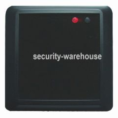 8608B 86 Type RFID 125 Khz Card Reader Black for Access Control