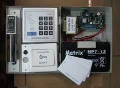Entry level RFID 125 KHz PIN Access Control DIY Kit-Bolt Lock + Power + Cards