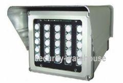 Surveillance Camera LED light 150 m distance power infrared light infrared light shield