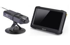 5-inch widescreen HD wireless video receiver +a small wireless camera mobile detection recording