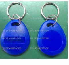 RFID 125 KHz ReWritable ID Key Ring for Hotel Access Control Lot