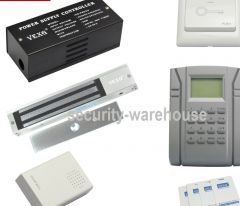 Entrance guard system check on work attendance magnetic locks whole Kit TCPIP network port newsletter package mail