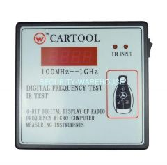 Desktop Infrared Remote Control and Wireless Remote frequency measurement Frequency measurement 100-1GHz