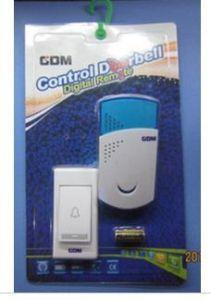 Wireless doorbell wireless doorbell AC wireless remote doorbell home doorbell 16 kinds music doorbell