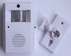 Infrared recorded receiving apparatus Store welcome infrared doorbell burglar alarm available welcome to day and night