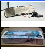 DV300L automotive rearview mirror hd 1080 p wide-angle night vision mini vehicle traveling data recorder Motion detecting