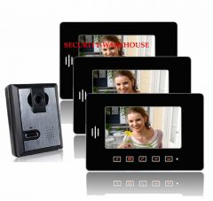 Practical 7 video intercom doorbelltouch-key visual doorbellnight vision visual doorbell