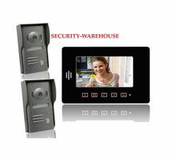 Practical 7 video intercom doorbelltouch-key visual doorbellnight vision visual doorbell 2 for one
