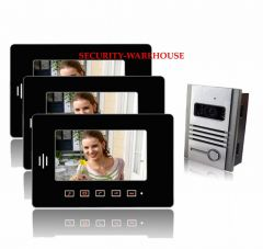 Practical 7 video intercom doorbelltouch-key visual doorbellnight vision visual doorbella pair three