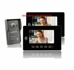 New 7 video intercom doorbelltouch-key visual doorbellnight vision visual doorbella pair 2