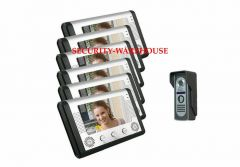 Household color visualvisual intercom doorbell +night vision waterprooftwo to four