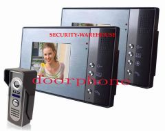 Household color visual color visual intercom doorbell 5 6-inch doorbell rainy nighton a second