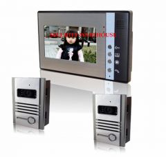 Blunt drill price 7 inches cable visible interphone bellvisual doorbellnight vision waterproof two to one