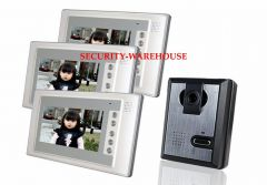 Blunt drill price 7 inches cable visible interphone bellhousehold color visualnight vision waterproof a pair three