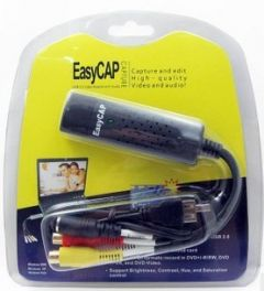 Easycap 1 channel video capture card CCTV security camera surveillance DVR USB