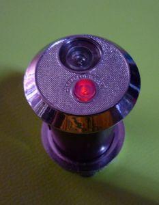 2010 shocked launch latest anti-theft doors cat doorbell Wang one Diameter 38  +luminous lights