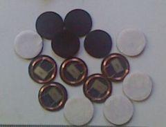 Small On-metal RFID tag round 125KHZ anti-small metal tag LF resistant metal tag