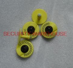 Electronic ear tags for livestock and livestock management RFID animal tag inventory label EM4305 chip inspection