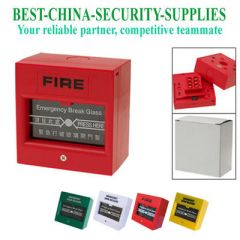 Glass Break Alarm Urgent Button for Fire and Emergency Assorted Color