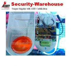 Mid-size Outdoor Flashing Siren for Wireless Wired GSM Alarm 104 +Battery