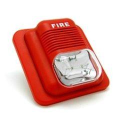 FIRE ALARM GUARDIAN LIGHT STROBE RED NCNO 24V DC