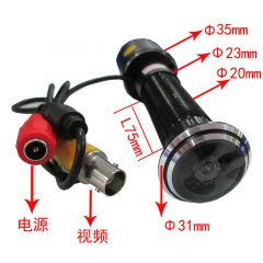 Wide-angle camera mini camera surveillance camera burglar fisheye visible doorbell dedicated camera CMOS
