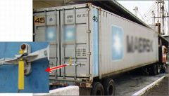 RFID container security seal tag UHF long reading range
