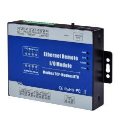 Ethernet Remote IO Module Modbus TCP Data Acquisition Module 2 Relay Output 2 Analog Input M100T (Wet Contact DI)