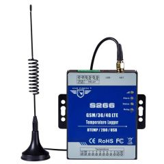 King Pigeon Temperature Monitoring Alarm Data Logger Recorder Supports High/Low SMS/Call Alert S266