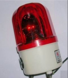 Alarm rotating lights sound and light alarm wired siren
