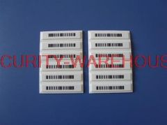 EAS Tag soft label labels sound magnetic stripe cosmetic metal Sensormatic anti-theft alarm manufacturers