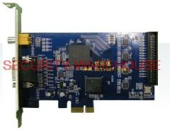 DVR Capture Card for CCTV SecurityPCI-E 4 channel HD card China High Qing best highest clearance