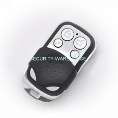 Fixed code garage door remote control universal clone copier for backup 4 button metal style +cover 433MHz 315 MHz