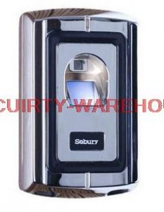 IP65 Waterproof Outdoor Silver Metal Rugged Fingerprint Only Access Control Wiegand