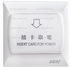 Intelligent Power Switch for Hotel Room 86 x 86 Access Secured