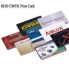Custom Production RFID Card +Printing Graphics Logo Standard Size 125KHz/13.56 MHz