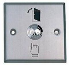Stainless Rugged Press Button Open Door Entrance