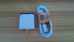 Audio interface RFID HF 14443A NFC mini reader writer 0 5M for Android mobile phone +SDK