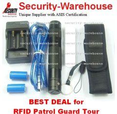 RFID 125Khz Patrol Guard Tour Monitoring System Offline Portable Durable CH168 5 Year Warranty