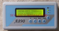 390-418 Mhz dual-band wireless remote analyzer support variety chipset decode code scan grabber vibration frequency