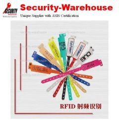 RFID HF 13.56MHz 14443A Disposable Medical Wristband Tag 23 mm