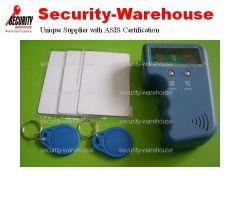 Portable Handheld RFID Copier + 125K EM4100 Rewritable card & tag