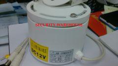 Outdoor Horizontal Pan-Tilt Unit Waterproof for CCTV Security Camera Light Alloy