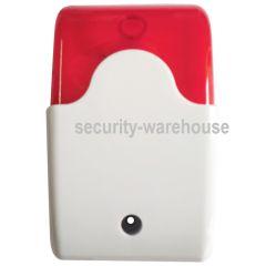 Wired Flash Strobe Light Siren 12V Light Duty for Intruder Alarm 12V